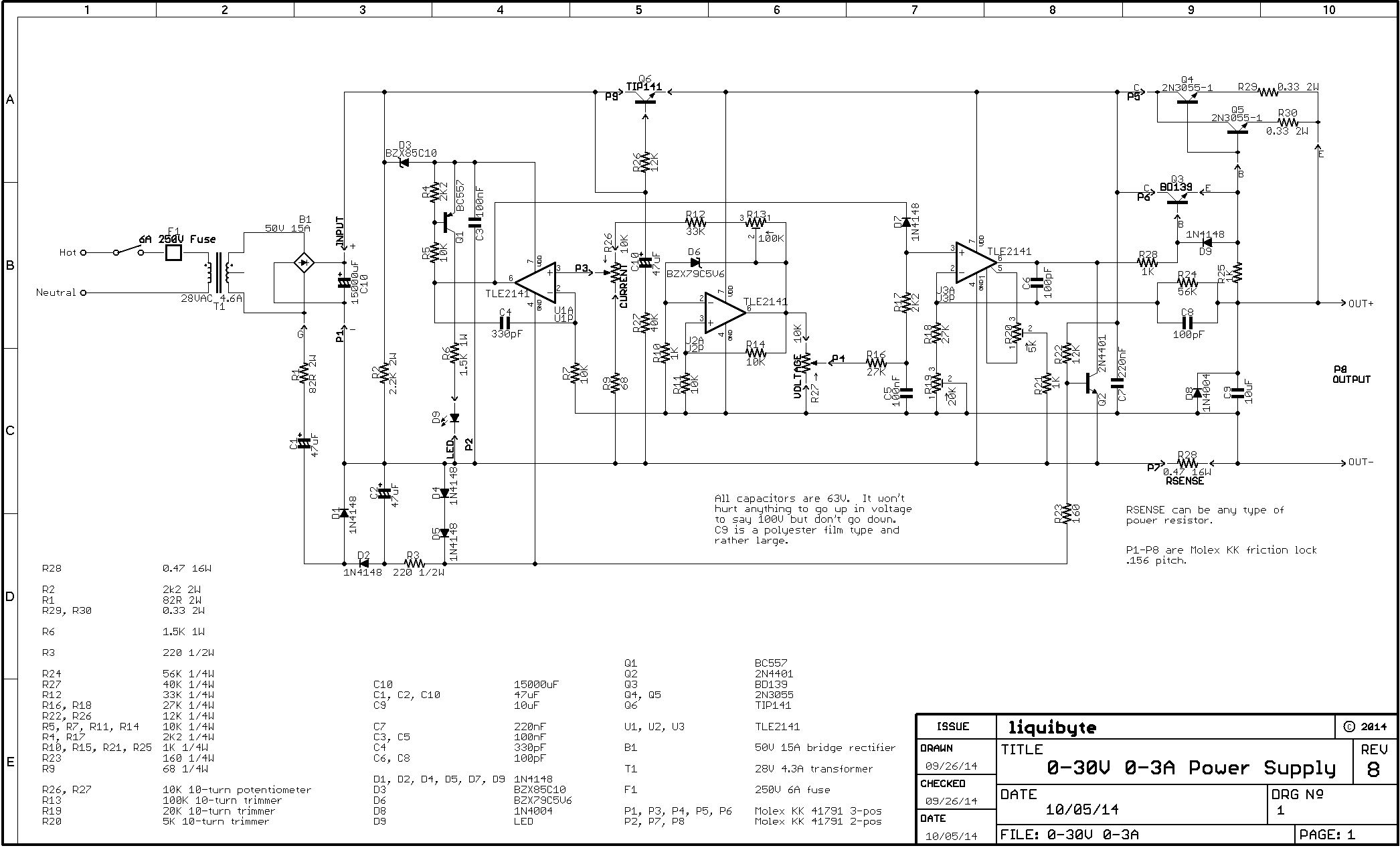 0 30v Stabilized Power Supply Page 88 Projects Q A Electronics 030v 02a Electronic Circuits Schematics Diagram Post 107142 14279144764352 Thumb