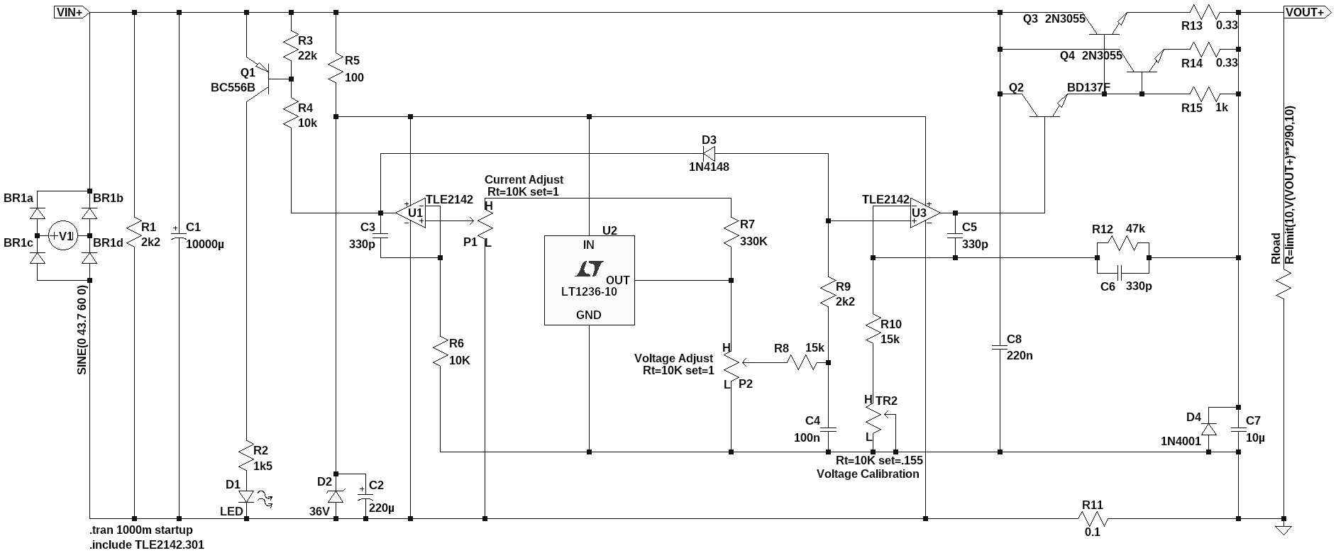 0 30v Stabilized Power Supply Page 92 Projects Q A Electronics On Semiconductor 2n3055 Discrete Devices Datasheet 3a Redesign