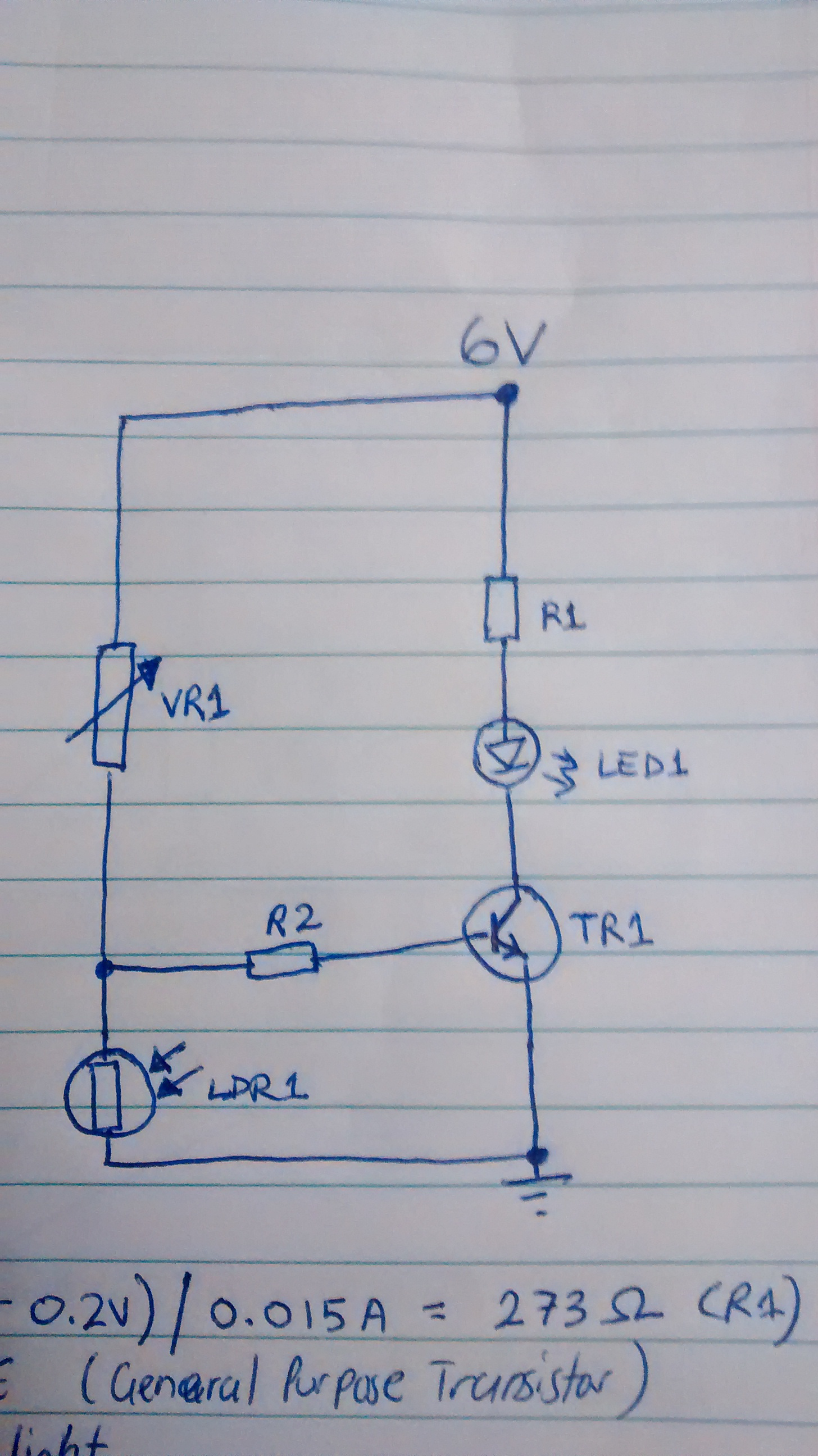 Calculate Value Of Base Emitter Resistor For Dark Activated Light The Schematic Darkactivated Switch Circuit We Will Build Is Img 20151025 012029354thumba75f8a7