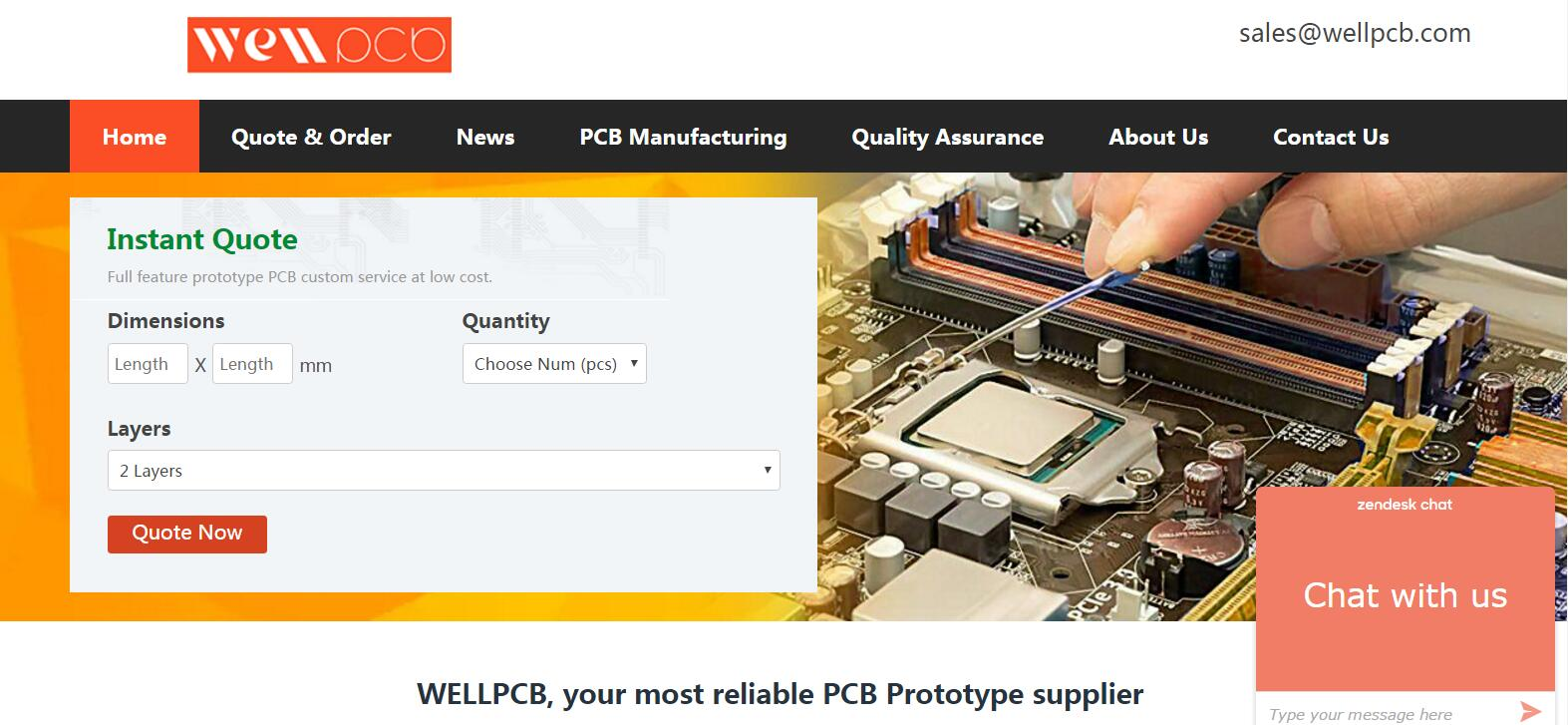 PCB manufacturing sites - work in progress - Sell/Buy electronics