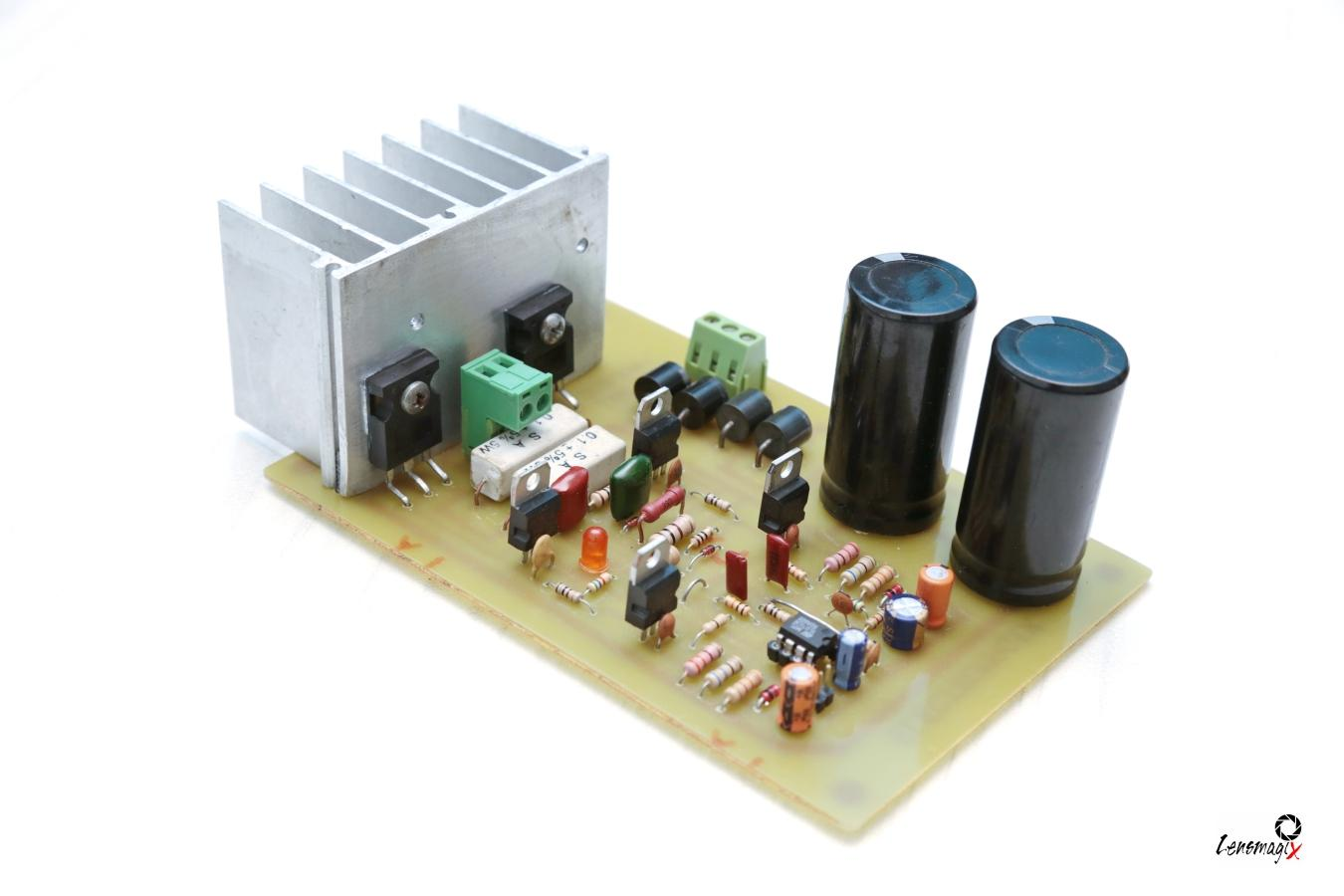 How To Make Audio Power Amplifier Circuit Electronic Projects Diagram The