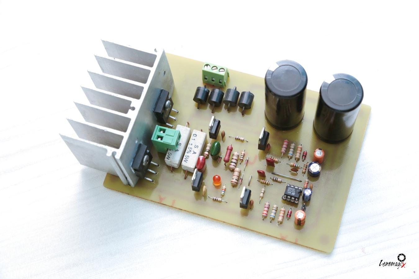 How To Make Audio Power Amplifier Circuit Electronic Projects Discrete Class Ab Transistor Diagram The